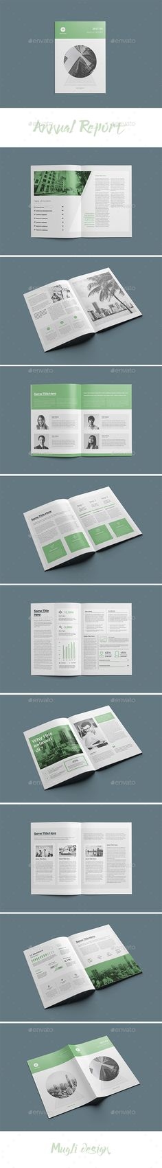 Annual Report Vol 2 Annual reports, Brochure template and Brochures - business annual report template