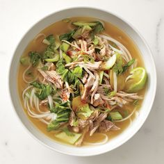 Pork and Ginger Noodle Soup | Rachael Ray Every Day