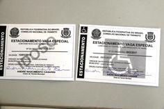 Em janeiro, Diretran entregou 150 carteirinhas para estacionamento em vagas preferenciais