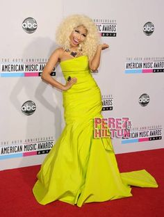ece3e769e AMA 2012 Festa Do Tapete Vermelho, Vestidos Tapete Vermelho, American Music  Awards, Fotos