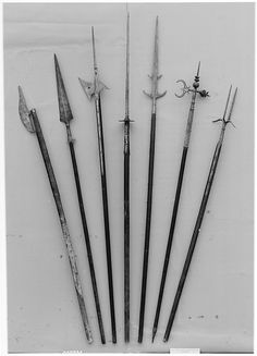 15th century Austrian Ahlspiess- Steel, wood http://en.wikipedia.org/wiki/Ahlspiess