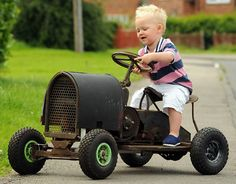 Motor mechanic builds toy car for son in 1930's: To be restored for future generations