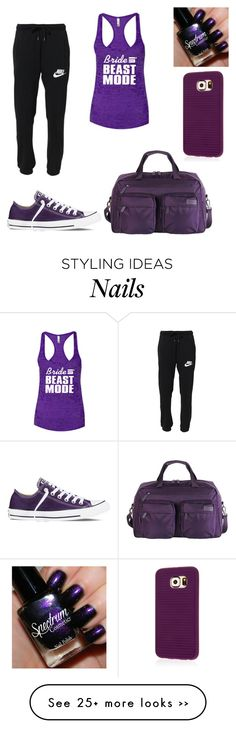 """""""Untitled #557"""" by tva-lpz on Polyvore featuring NIKE, Converse, Lipault and Samsung"""