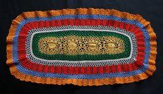 Années 1970 1 Napperon crochet multicolore par MontmartreVintage