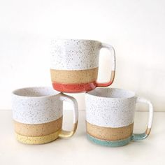 Excited to share this item from my shop: Coffee cup mug - oversized cappuccino large big mug ceramic in white latte large Yummy Cappuccino mug in a lovely shiny white speckled glaze. Cappuccino Mugs, Cappuccino Machine, Ceramic Coffee Cups, Stoneware Mugs, Pottery Mugs, Ceramic Pottery, Ceramic Art, Slab Pottery, Ceramic Bowls