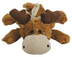 Amazon.com: KONG Cozie Marvin the Moose, Medium Dog Toy, Brown: Pet Supplies