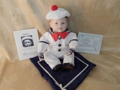 Edwin Knowles Matthew Doll Vintage 1980's by AlwaysPlanBVintage on Etsy