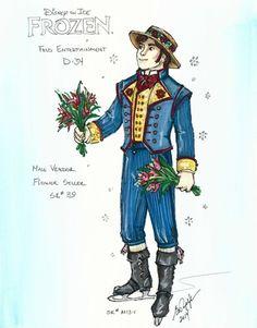 Disney On Ice Frozen, Frozen On Broadway, Frozen Musical, Anna Frozen, Newsies Costume, Prince Hans, Elsa Olaf, Frozen Costume, Costumes