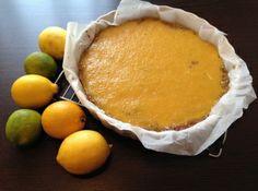 Reform citromos-diós pite recept: Ez a könnyen elkészíthető citromos desszert liszt- és laktózmentes, ennek ellenére nagyon finom és ízletes! http://aprosef.hu/reform_citromos_dios_pite_recept