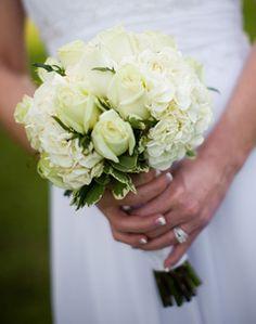 Small White Wedding Bouquet