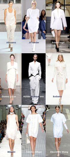 Spring 2013 Fashion Trends : 2. Major Minimalist White - love Maegan