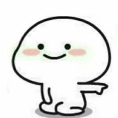 Kawaii, Heart Meme, Cute Cartoon Characters, Cute Doodles, Cute Memes, Cute Gif, Funny Art, Cute Illustration, Emoticon