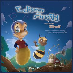 Edison the Firefly and His Buddy Bell (Multilingual Edition) by Donna Raye
