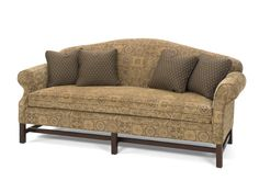 classic, camel back sofa...Shaker style!  Loads of fabrics to choose from!