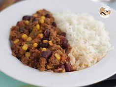 Receita Prato Principal : Chili com carne mexicano de PetitChef_PT