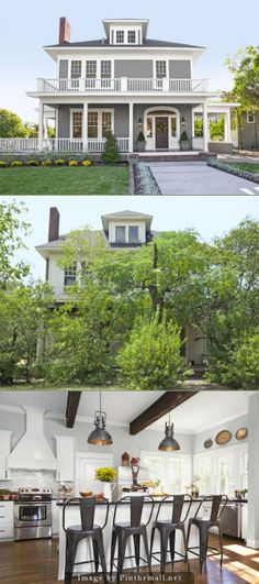 """Before/After from HGTV's """"Fixer Upper"""" my favorite show. Just wish I could these homes where I live."""