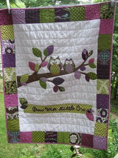 Love this Owl Quilt diy-sewing-things-i-want-to-try