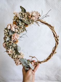 Excited to share this item from my #etsy shop: Pink Pom Pom Everlasting wreath Hydrangea Wreath, Floral Wreath, Rustic Wreaths, Bloom, Etsy Shop, Pink, Gifts, Decor, Flower Crowns