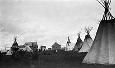 The 1918 summer gathering in La Loche