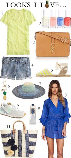 Looks I Love summer fashion | Beautifully Seaside
