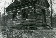 Old school house at Barron Hollow, MO