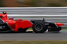 Marussia F1 speeding up