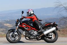 Women's Ducati Monster 696. I will have this in the next 5 years. :0