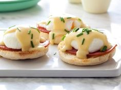 Poached Eggs Benedict  (one of my all time favorite weekend breakfasts!)