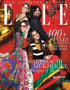 I'm pretty sure everyone now knows I'm obsessed with Sabyasachi Mukherjee. Look at this cover - the colors are so fun and the girls look gorgeous!