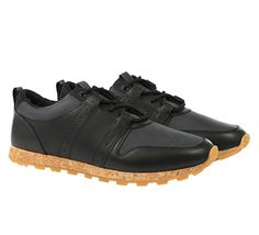 Clae - Mills Schuh black leather