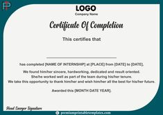 It is a certificate that marks the completion of law internship with any company. It includes the name of the intern, work done by the intern and the period of internship. Certificate Format, Certificate Design Template, Kappa Alpha Order, Change Logo, Certificate Of Appreciation, Certificate Of Completion, Resume Design, Company Names, Law