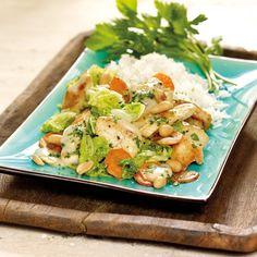 Low Sugar, Healthy Recipes, Healthy Food, Potato Salad, Ethnic Recipes, Asia, Pork Stir Fry, Pork Dishes, Health Foods