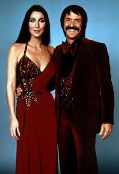 Sonny & Cher circa 1976  (after the divorce)