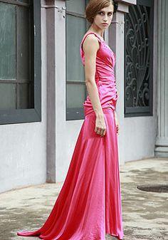 red prom dress long prom dresses