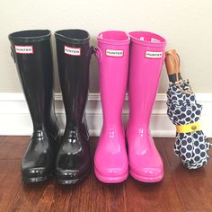 Win Two Pairs of Hunter Boots! One for you and one for a friend!