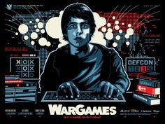 James White aka Signal Noise - War Games Poster