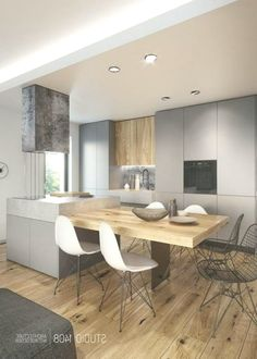 Here are the Black White Wood Kitchens Design Ideas. This post about Black White Wood Kitchens Design Ideas was posted under the Kitchen category by our team at May 2019 at pm. Hope you enjoy it and don't . Minimalist Kitchen, Minimalist Interior, Minimalist Bedroom, Minimalist Rugs, Kitchen Chairs, Kitchen Decor, Kitchen Ideas, White Wood Kitchens, Kitchen White