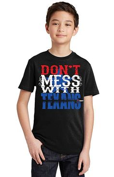 Promotion  amp  Beyond Don t Mess With Texans Texas Pride Youth T-Shirt 33e5abeb8