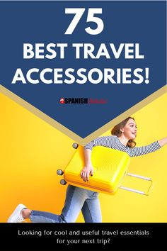 You'll love these top-rated travel accessories! These are so incredibly practical and must-haves! Don't forget to put them on your packing list, better yet in your suitcase or carry-on. You will definitely want to pack these travel products for international travel. This list includes gadgets like travel backpacks, wireless speaker, wireless headphones, antitheft backpacks, anti theft bag, toiletries, and more. #travelaccessories #travelessentials #packingtips #whattopack #international #flight Road Trip Packing, Packing List For Vacation, Packing For A Cruise, Travel Packing, Travel Tips, Mexico Travel, Spain Travel, Travel Deals, Travel Destinations