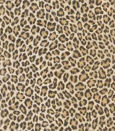 """African Queen II 33' x 20.5"""" Leopard Print 3D Embossed Wallpaper"""