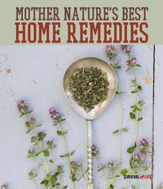 If ever left without modern medicine, knowing a little about nature's remedies for common ailments could prove crucial to your health and wellness in a survival situation. Get familiar with home remedies now!