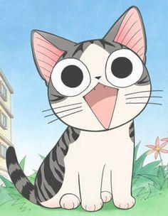 """""""Chi"""". Ce manga raconte la vie d'un chat recueilli par une famille. Chaque épisode met en scène un moment marquant de cette vie de chat. Facile à lire (sens de lecture français) et en couleur."""