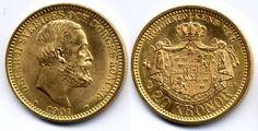 20 kronor 1901 Svenska guldmynt