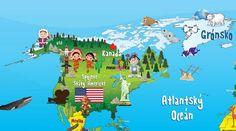 mapa světa - Hledat Googlem Continents, Indiana, Puzzle, Family Guy, Ocean, World, Kids, Fictional Characters, School