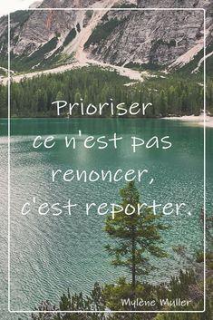 Qu'avez-vous envie de prioriser aujourd'hui ?