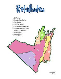 DEPARTAMENTO DE RETALHULEU (GUATEMALA) - CHILE POST™