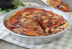 TORTA DI MELANZANE IN CROSTA ricetta facilissima, pratica e ricca di gusto, un secondo piatto o piatto unico gustosissimo