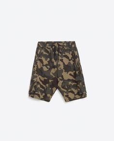 Image 8 of CAMOUFLAGE BERMUDA SHORTS from Zara