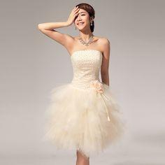 nouvelle  robes de demoiselle d\'honneur  bustier de perles pour  printemps et  été