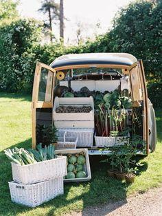 Truck full o' veggies